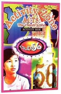 Club 56 Acts Activity Book