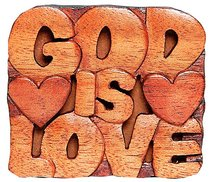 Magnet: Wood God is Love