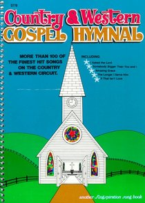 Country & Western Gospel Hymnal 1 (Music Book)