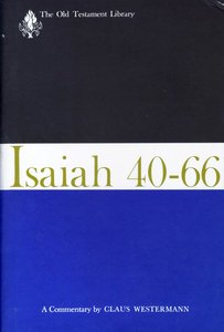 Isaiah 40-66 (Old Testament Library Series)
