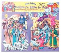 Lukens Pre-Cut Birth of Jesus Set