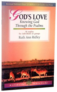 Gods Love (Lifeguide Bible Study Series)