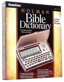 Franklin Holman Bible Dictionary Bookman Including the NIV Hbd-1450