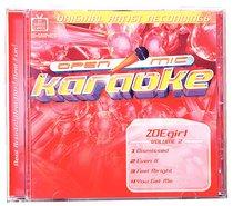 Karaoke Zoe Girl (Accompaniment) (Vol 2)