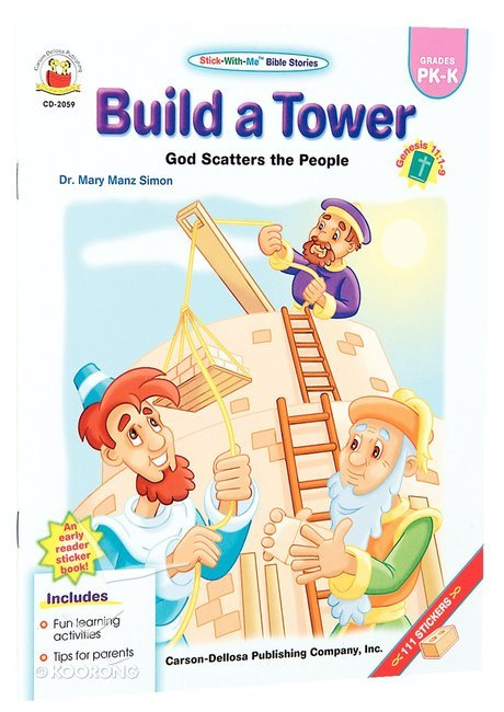 Buy Stick With Me Build A Tower Stick With Me Bible Stories Series