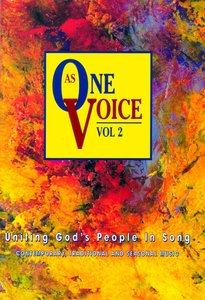 As One Voice Volume 2 Peoples Edition (Music Book)
