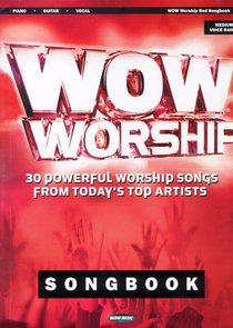 Wow Worship Red 2004 Music Book