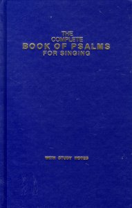 Complete Book of Psalms (Music Book) (Plain)