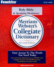 Franklin NIV Bible With Speaking Dictionary