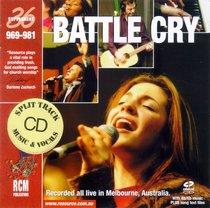 Rcm Volume F: Supplement 36 Battle Cry (Split Trax) (969-981)