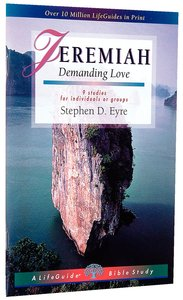 Jeremiah (Lifeguide Bible Study Series)