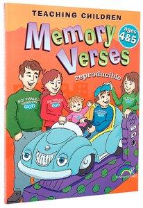 Teaching Children Memory Verses Ages 4&5