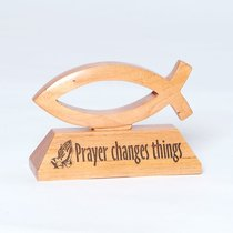 Laser Fish: Prayer Changes Things