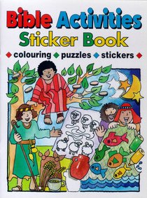 Bible Activities Sticker Book