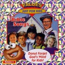 Donut Man Bible Songs (Vol 2)