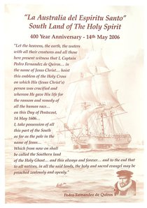 Poster Laminated: Southland of the Holy Spirit 400th Anniversary