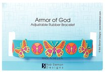 Rubber Wristband: Butterfly