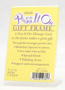 Pass It on Vertical Frame (Pass It On Cards Series)