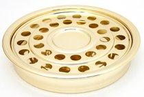"""Communion Tray Cup & Bread: Brasstone (12"""") (Rw-508ab) (Serves 32)"""