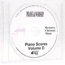 Rcm Volume D Full Piano Music on CDROM (Supp 21-27)