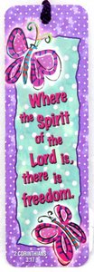 Tassel Bookmark: Where the Spirit of the Lord Is, There is Freedom