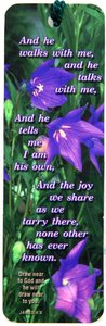 Tassel Bookmark: And He Walks With Me...