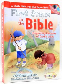 First Steps in the Bible (With Music Cd)