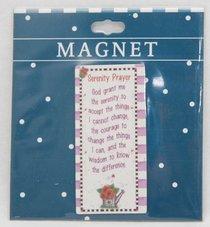 Magnet: Serenity Prayer