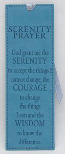Bookmark: Serenity Prayer Luxleather