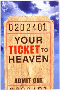 Your Ticket to Heaven ESV (Pack Of 25)