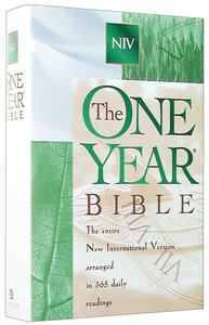 NIV One Year Bible (1984)