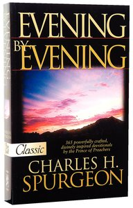 Evening By Evening (Pure Gold Classics Series)