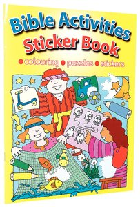 Bible Activities Sticker Book (Colouring, Puzzles, Stickers)