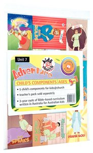Kids@Church 07: Ad7 Ages 5-7 Child Components (5 Pack) (Adventure) (Kids@church Curriculum Series)