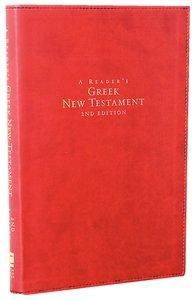 A Readers Greek New Testament