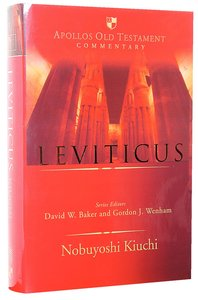 Leviticus (Apollos Old Testament Commentary Series)