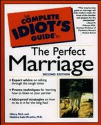 Complete Idiots Guide to the Perfect Marriage (Complete Idiots Guide Series)