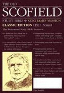 KJV Old Scofield Study Burgundy (Classic Edition)