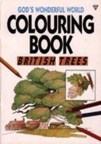 British Trees Colouring Book