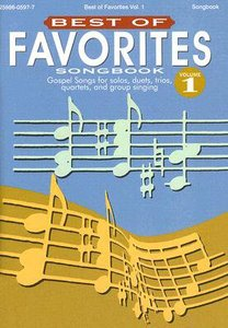 Best of Favourites V1 (Music Book)