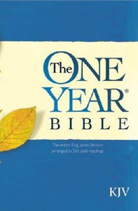 KJV One Year Bible (Black Letter Edition)