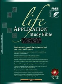 NLT Life Application Study Black (Red Letter Edition)