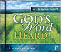 Gods Word Heard Audio New Testament MP3