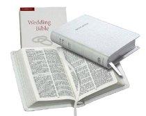 KJV Wedding Bible White (Black Letter Edition)