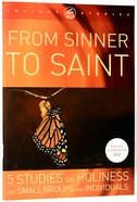 From Sinner to Saint (Workbook)
