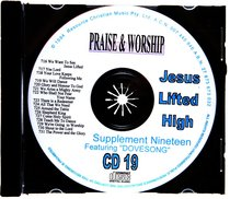 Rcm Volume C: Supplement 19 Jesus Lifted High (2 Cds) (716-731)