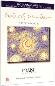 God of Wonders (Music Book)