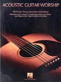 Acoustic Guitar Worship (Music Book)