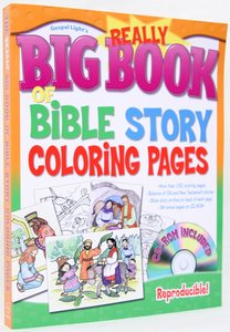 The Really Big Book of Bible Story Coloring Pages