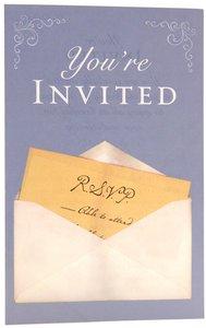 Youre Invited KJV (Pack Of 25)
